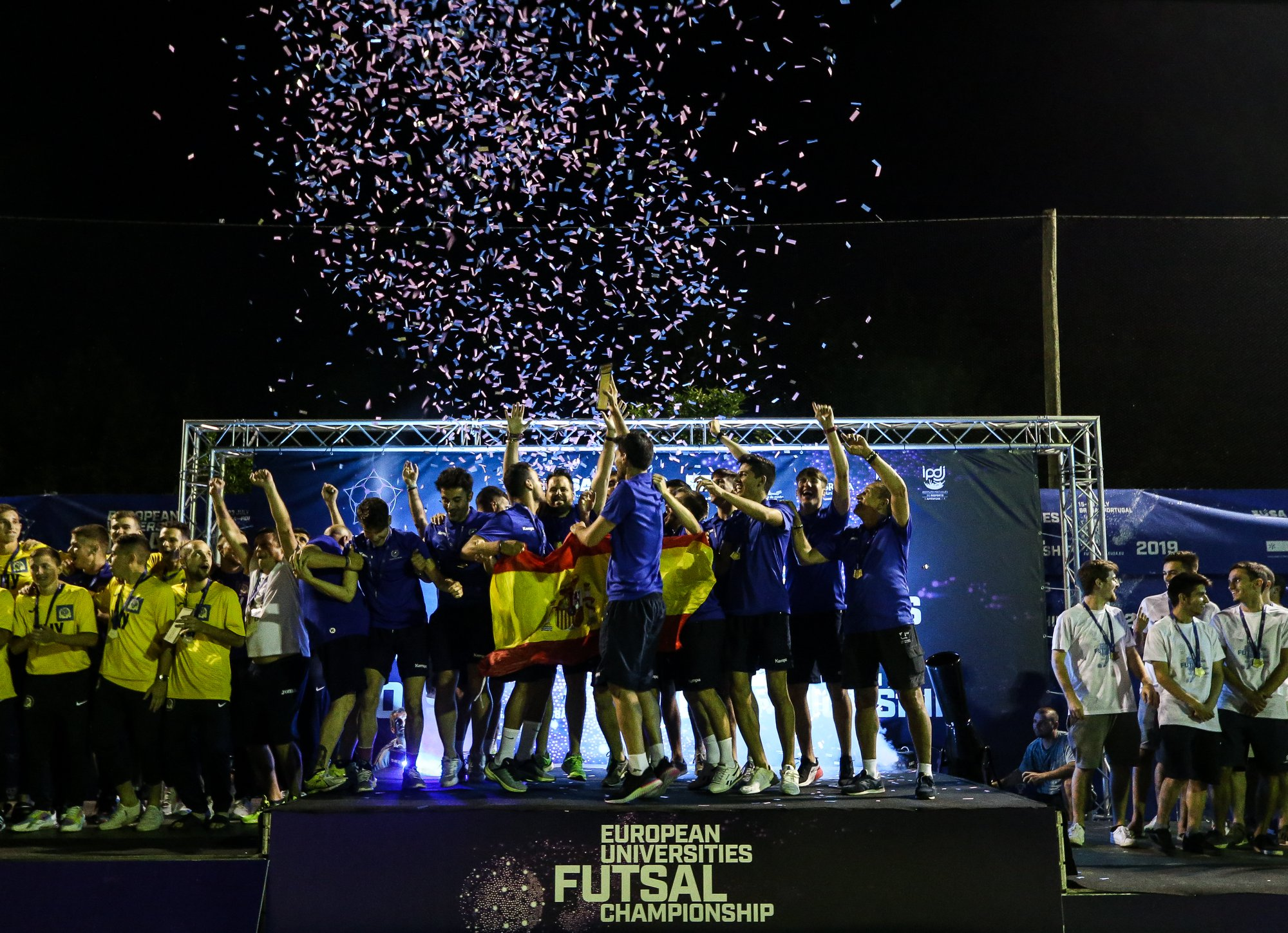 EUC Futsal men's winners