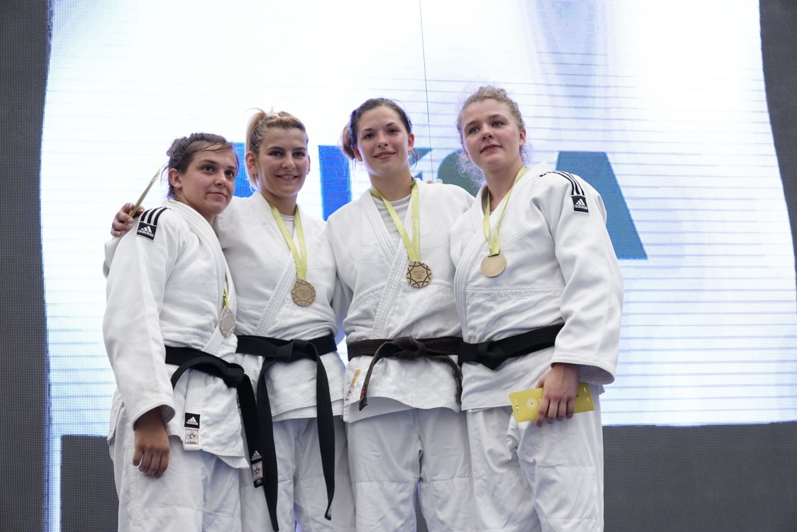 EUSA Coimbra Medalists 2017 Group