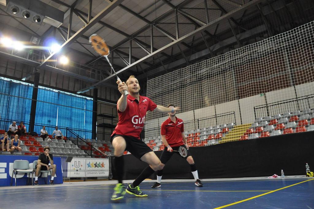 EUSA Badminton Alexander Roovers Doubles