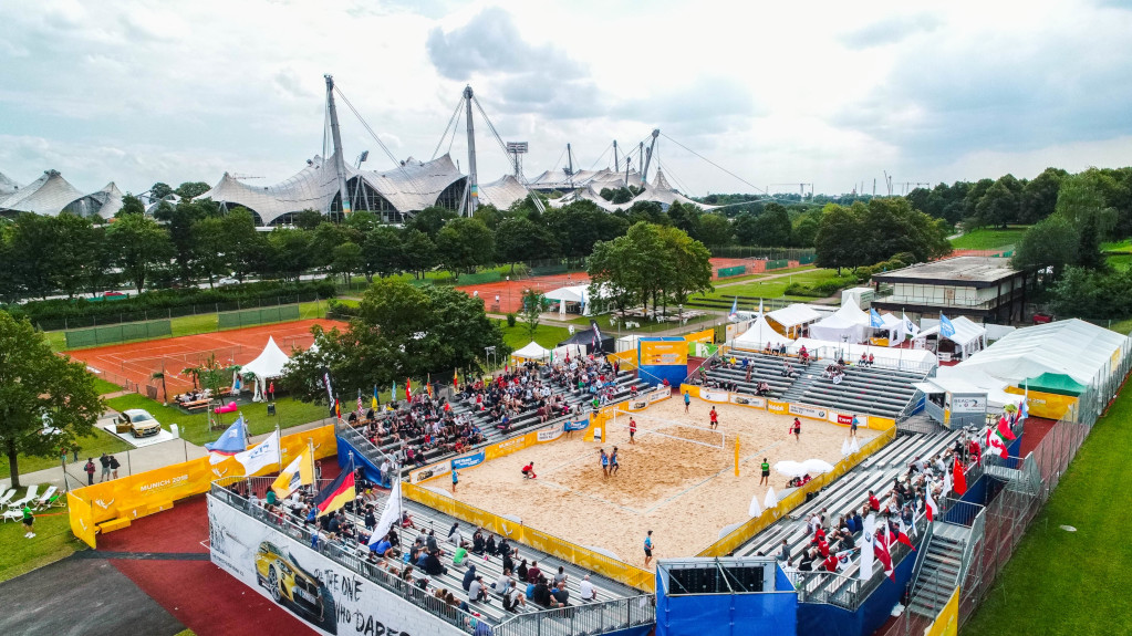 WUC Beach Volleyball in Germany