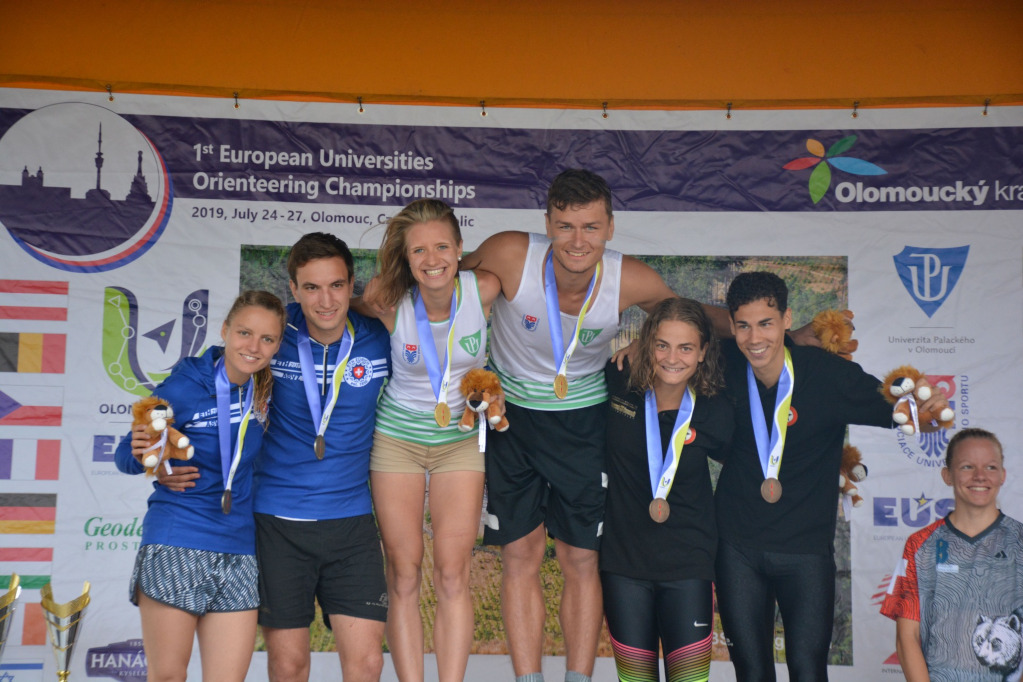 Laura Ramstein podium finisher at EUC Orienteering 2019