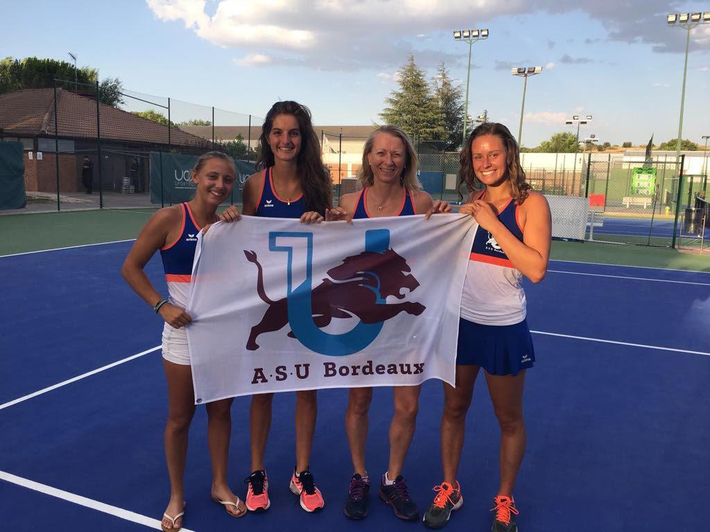 EUSA Tennis 2017 University of Bordeux
