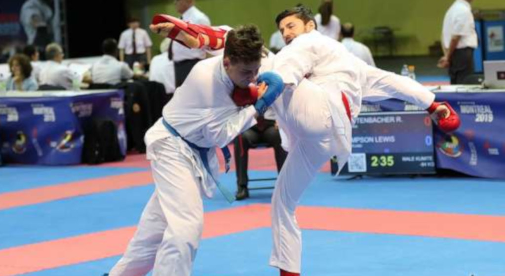 Robin at Karate 2019