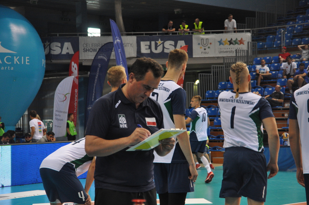 EUSA Volleyball Wojciech Coaching
