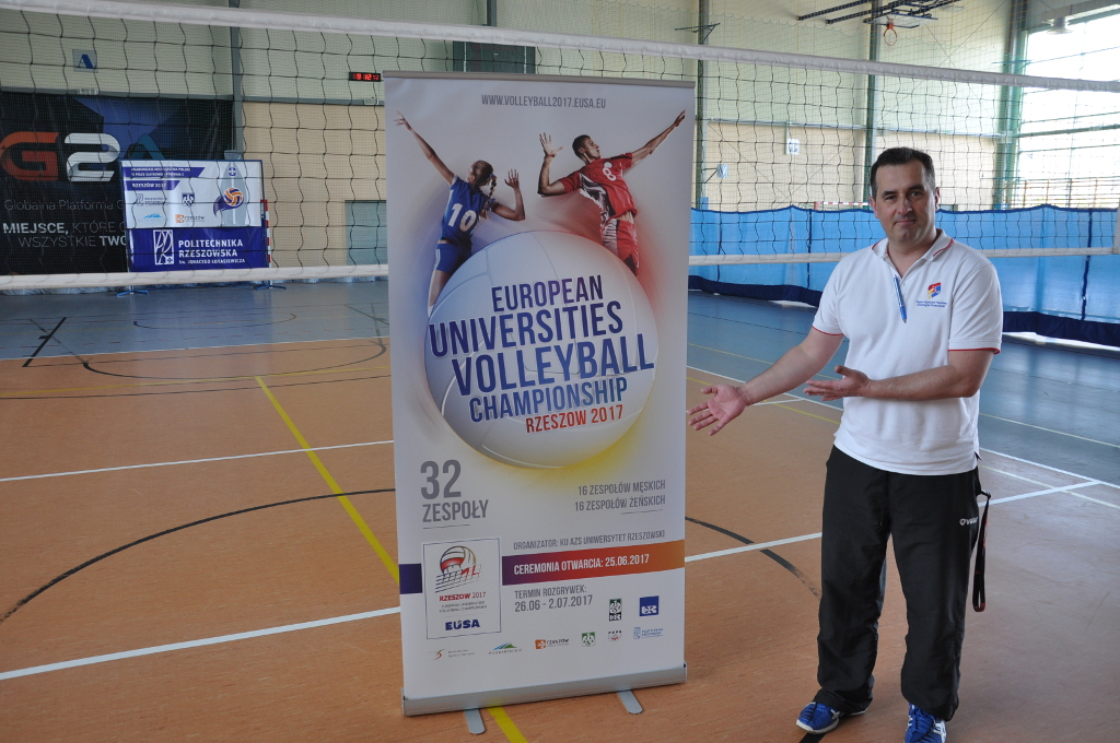 EUSA Volleyball Wojciech Organiser