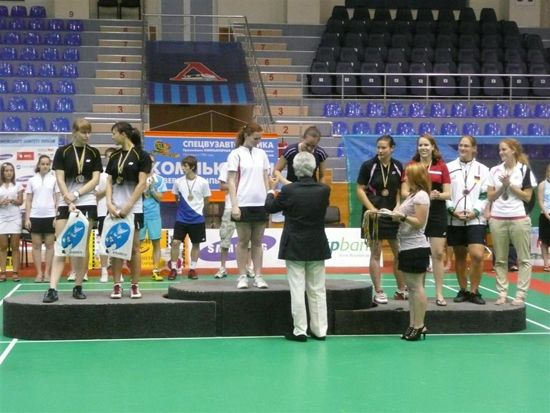 Medals awarding by Mr Pavlou
