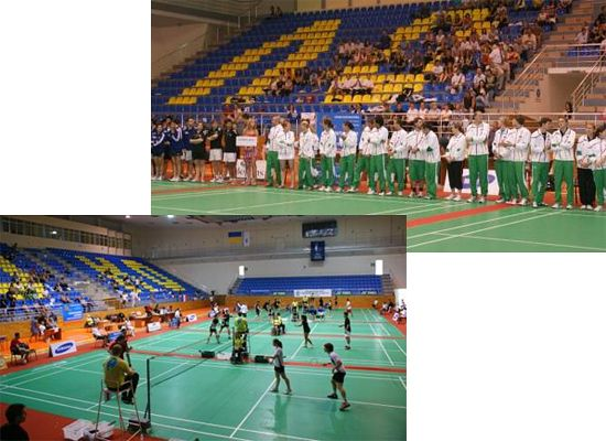 Competitions at the Sports hall Lokomotiv