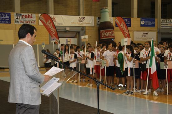 Hosts addressing Participating teams