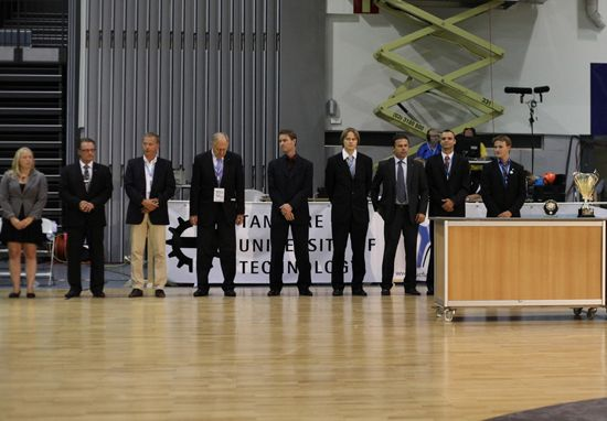 Presenters of the awards