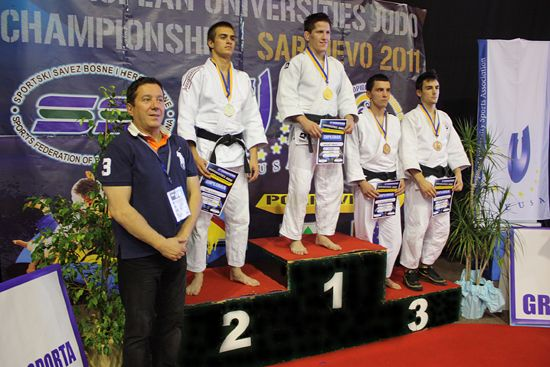Medallists Men (-60kg)