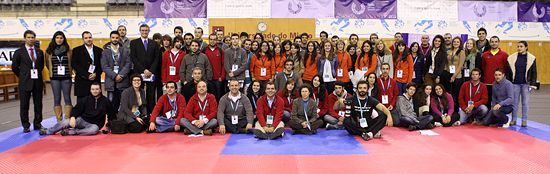 OC and Staff of EUC Taekwondo 2011