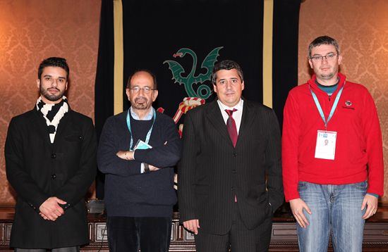 EUSA and OC representatives with the Rector of UMinho