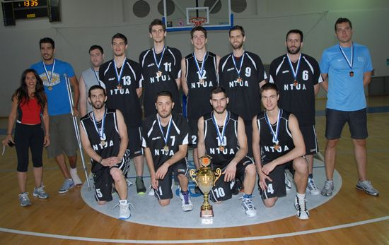 Winning men's team: Athens, Greece