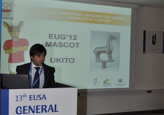 Presentation of the 1st European Universities Games 2012