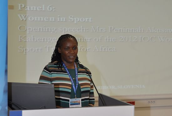 Women in Sport, opened by Mrs Penny Kabenge