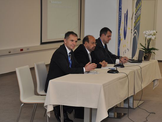 Welcome addresses: Mr Kugovnik, Mr Gualtieri, Mr Pecovnik