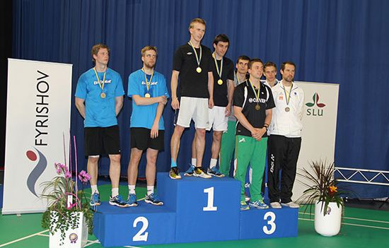 Medallists Doubles Men