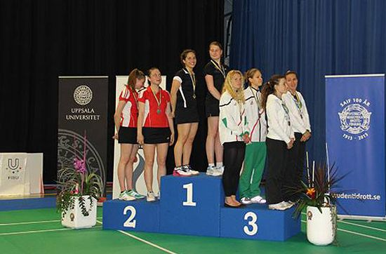 Medallists Doubles Women