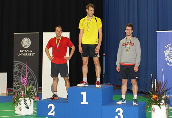 Medallists Singles Men