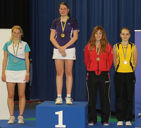 Medallists Singles Women
