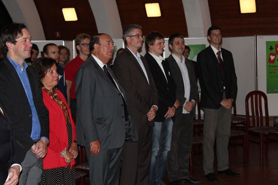 Speakers and presenters of awards