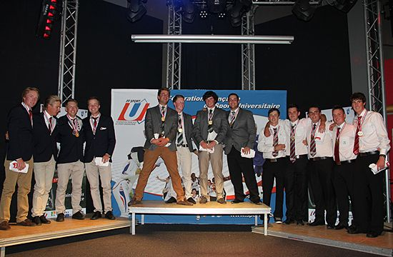 Medallists - men's teams