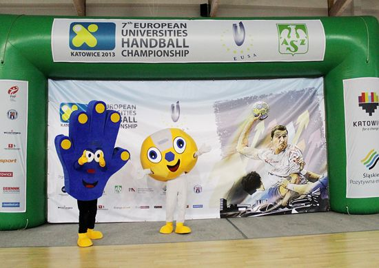 Mascots of the event