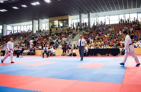 Kumite competitions