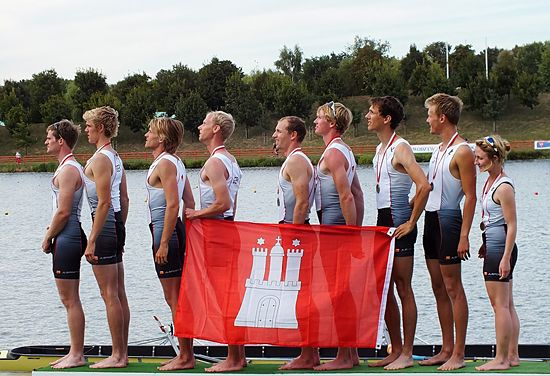 Medallists - men's eights
