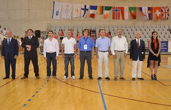High officials and VIPs were awarding the medallists and other award winners