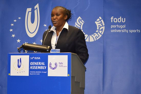 Mrs Penninah Kabenge, FASU Secretary General