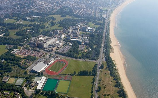 Swansea Bay and the University Campus