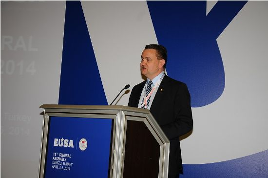 Vice-President of FISU Mr Stefan Bergh
