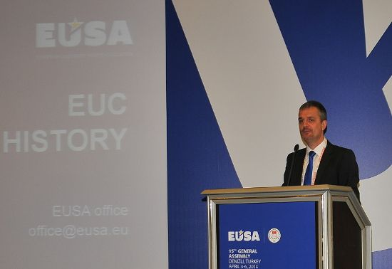 Events report by EUSA Secretary General Mr Matjaz Pecovnik