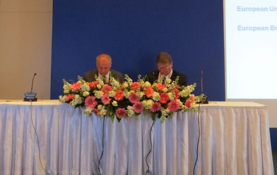 Signing of cooperation agreement between EUSA and EBL