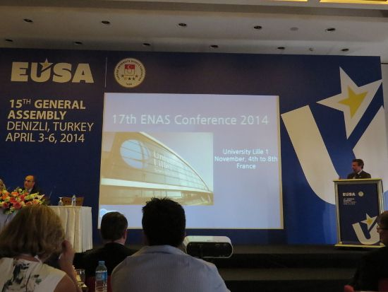 ENAS presentation by Mr Bruno Almeida