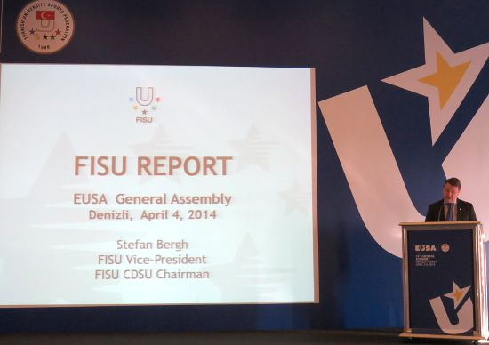 FISU presentation by Mr Stefan Bergh, FISU Vice-President