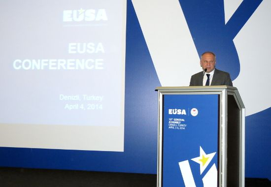 Closing by Mr Adam Roczek, EUSA President