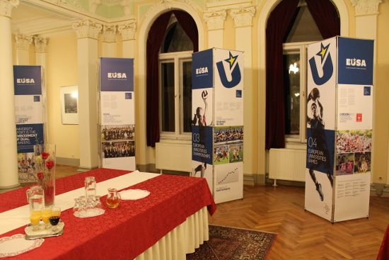 EUSA exhibition on University sport