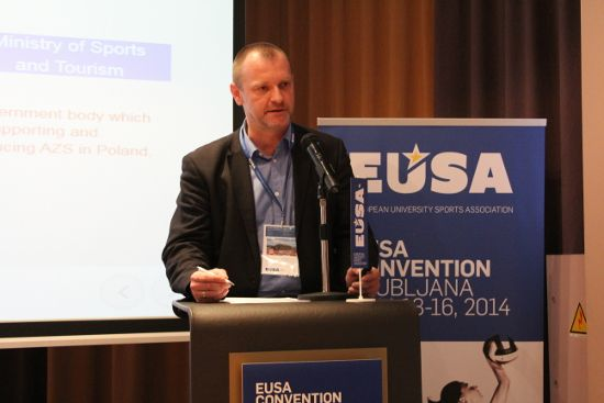 Mr Piotr Marszal, Vice-President EUSA Technical Commission