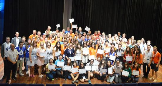 International EUSA volunteers