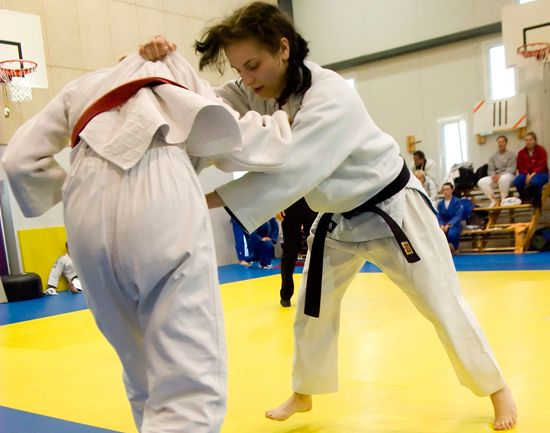 Competitions in Judo