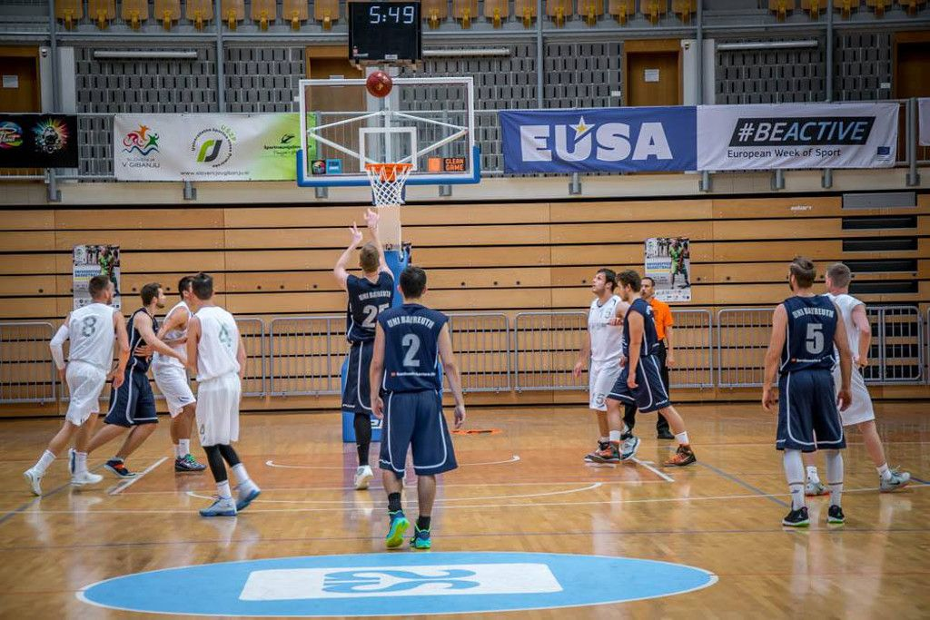 Promotion of the European Week of Sport at EUSA sports events