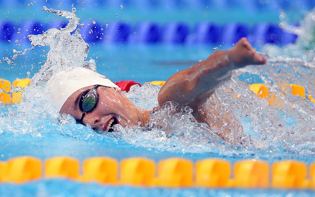 Swimming, one of the sports where students with disabilities can take part in the European Universities Games