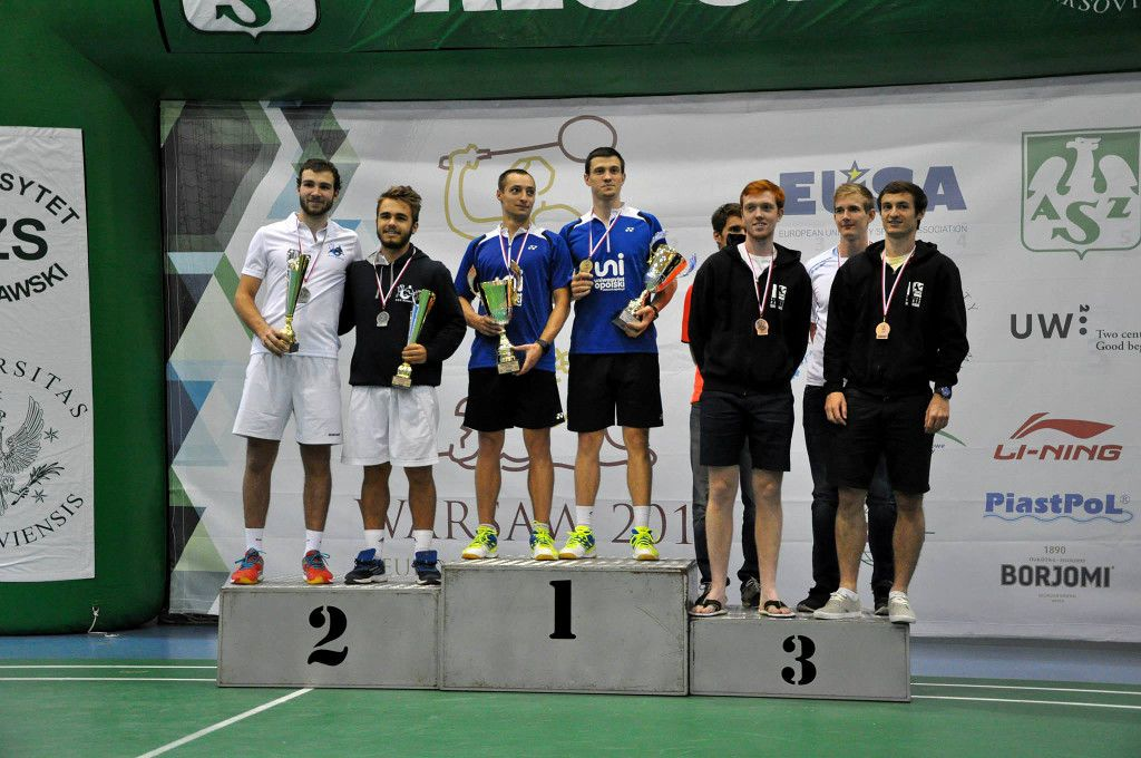 Male medallists