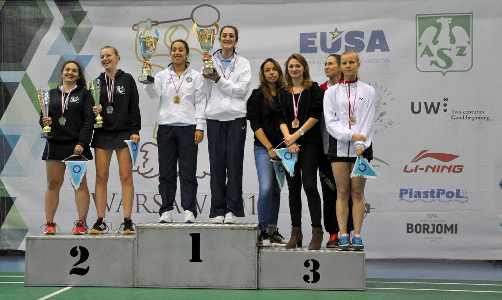 Female medallists