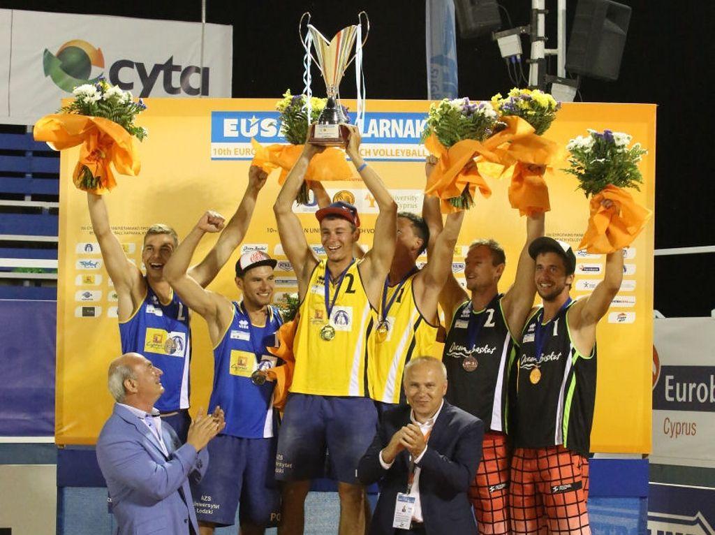 Medallists - men