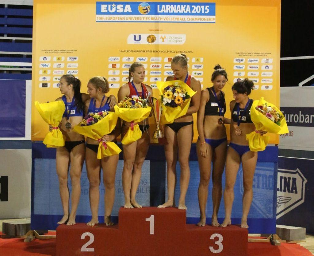 Medallists - women