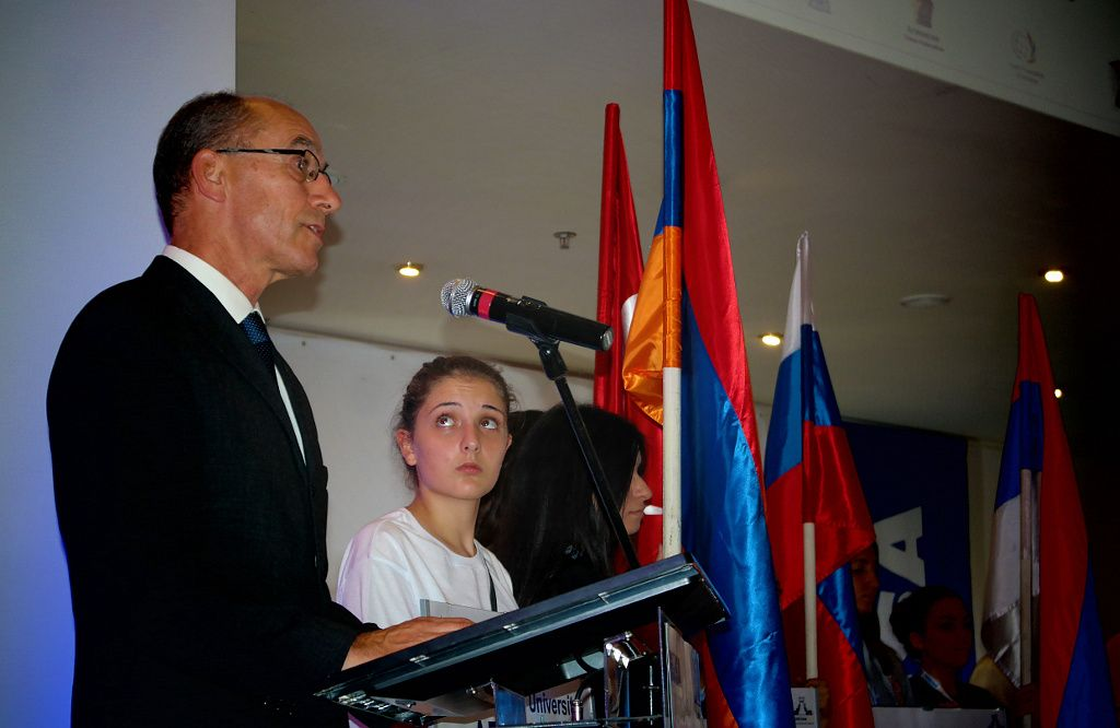 EUSA Vice-President Leonz Eder