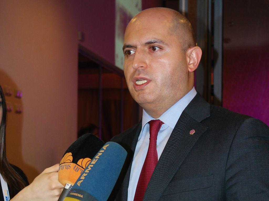 Minister Armen Ashotyan